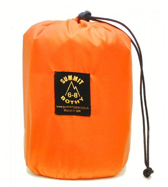 Bothy Bag für 6-8 Personen Orange