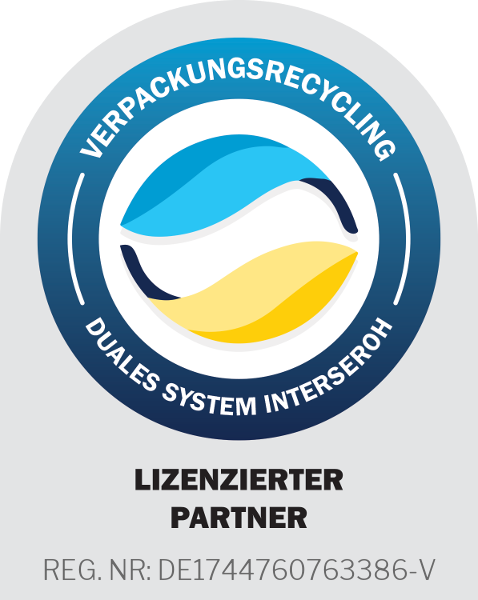 Verpackungsrecycling Reg.Nr. DE1744760763386-V