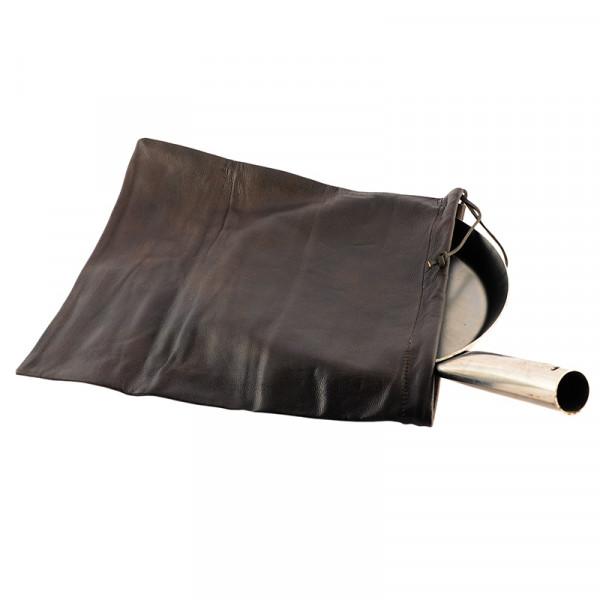 Transportbeutel aus Leder für Jägerpfannen
